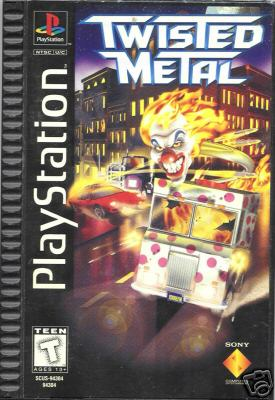 Twisted Metal-cover game