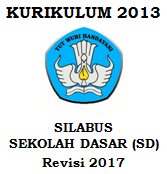 Silabus Sd Kurikulum 2013 Revisi 2017 Tozsugianto
