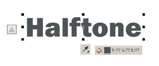 Efek Halftone di CorelDRAW