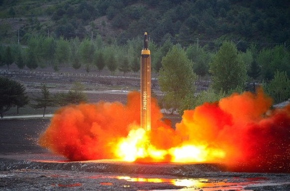 North Korea Posted Video of  Her Latest ICBM Test