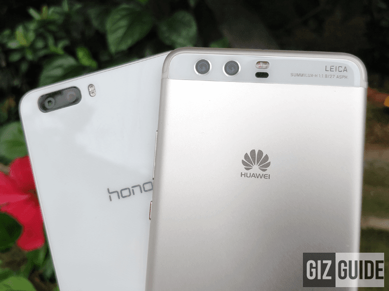 2014 Honor 6 Plus, 2017 Huawei P10 Plus