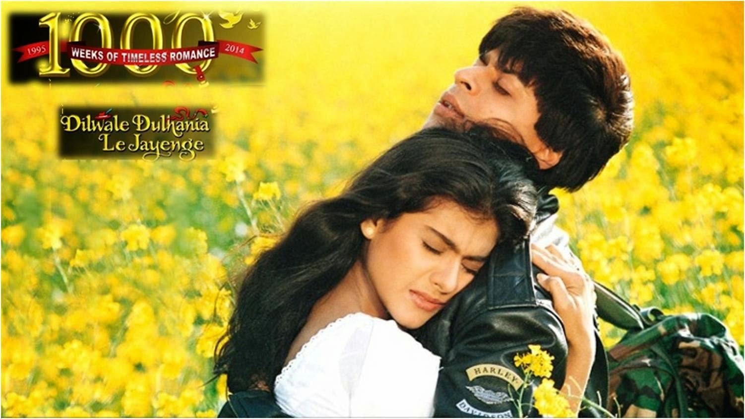 DDLJ: Romantic love story of Shahrukh Khan and Kajol in Dilwale Dulhaniya Le Jayenge