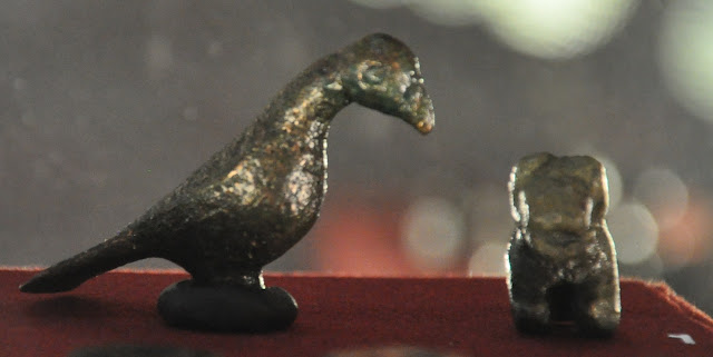 Zoomorficzne figurki z wczesnośredniowiecznego zespołu osadniczego w Gieczu
