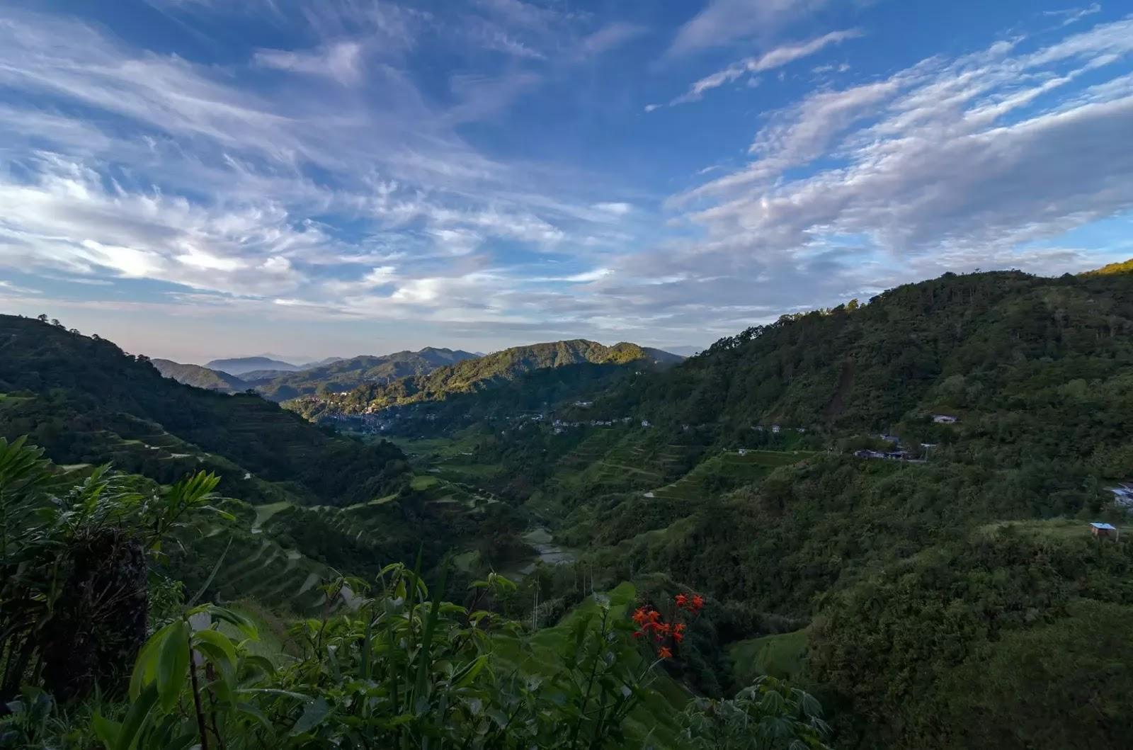 One Fine Morning Banaue Rice Terraces Ifugao Cordillera Administrative Region Philippines