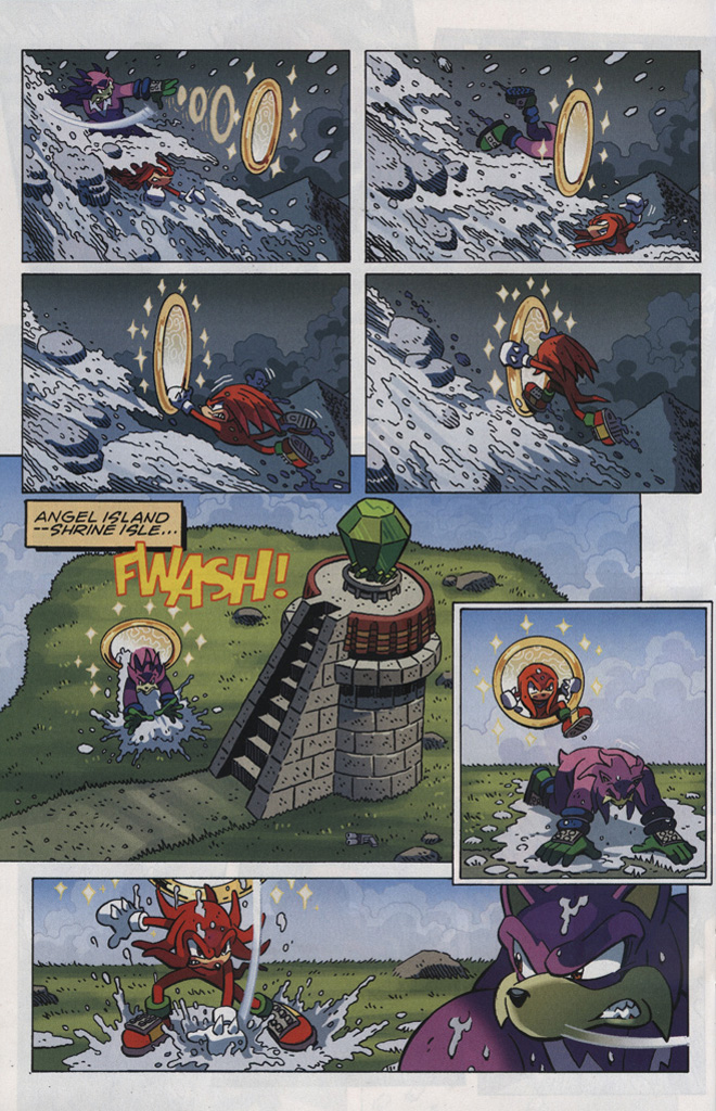 Read online Sonic The Hedgehog comic -  Issue #246 - 22