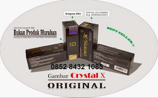 Distributor penjual manfaat herbal natural crystal x asli ori produk NASA (bukan kw/palsu)bermanfaat khasiat sebagai solusi masalah kewanitaan, dan keputihan