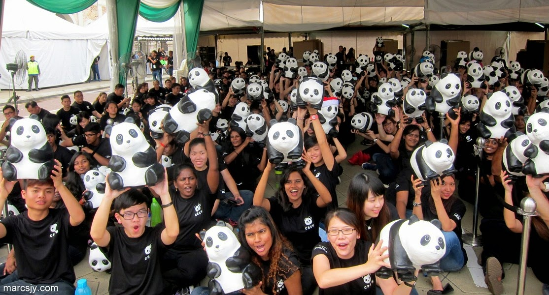 1600 Pandas World Tour #1600PandasMY Appearance In Malaysia
