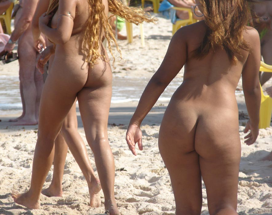Naked brazilians at the beach