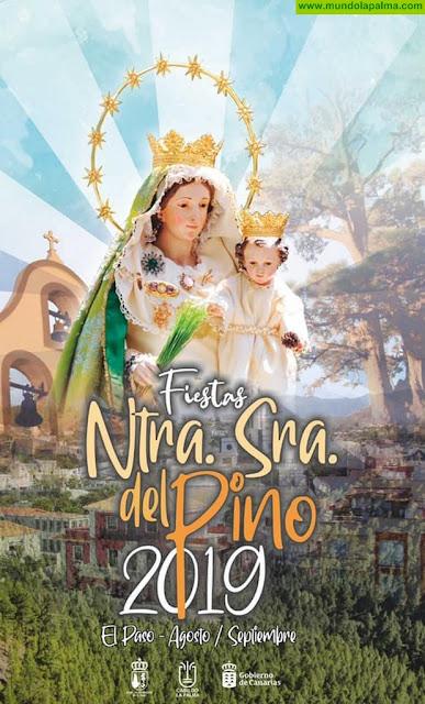 Programa de Actos de las Fiestas Patronales en honor a la Virgen del Pino 2019 en El Paso