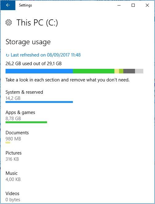Melihat Kapasitas Hardisk Laptop Windows 10