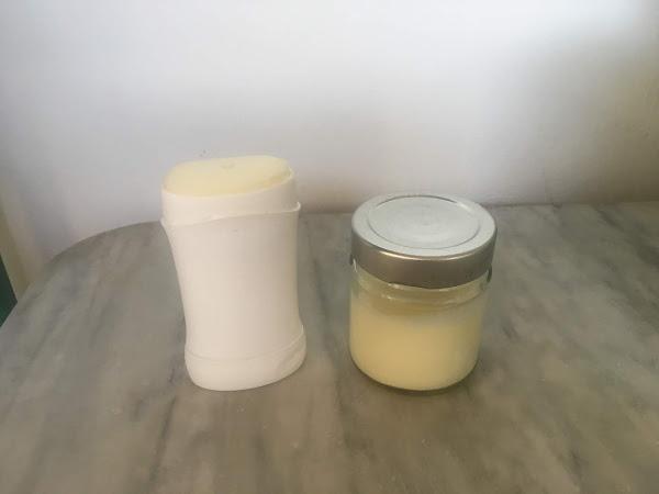 DIY DEODORANT WITH NO BAKING SODA   Deodorante DIY senza bicarbonato