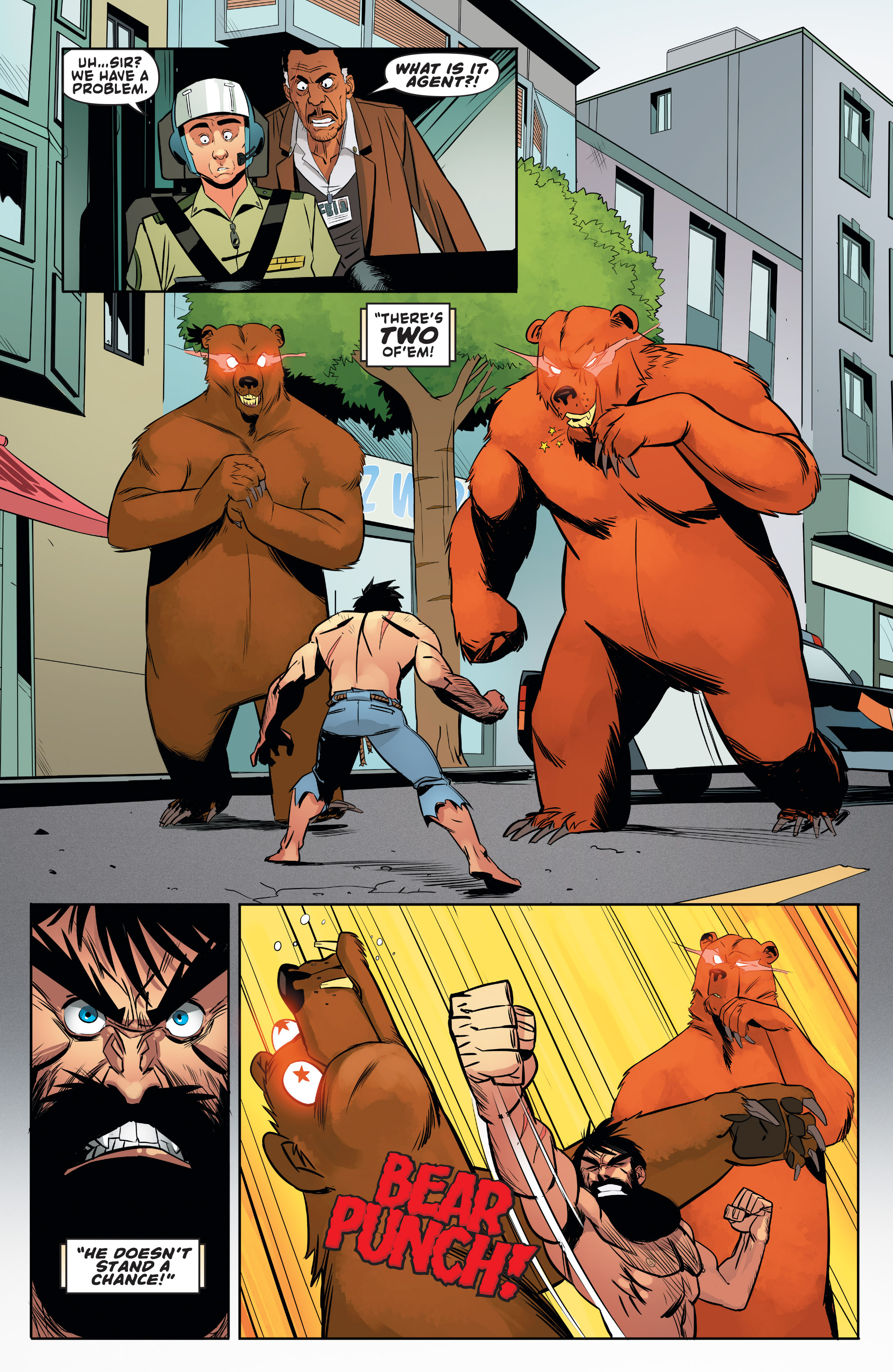 Read online Shirtless Bear-Fighter! comic -  Issue #1 - 26