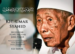 Mbah Umar Tumbu, Kyai Sepuh Pacitan Wafat di Umur 132 tahun
