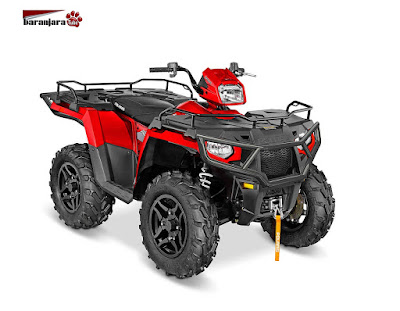 POLARIS SPORTSMAN 570 SP HAVASU RED PEARL 2016