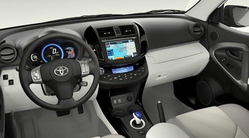 2016 Toyota RAV4 Blue Pearl Hybrid Elegant Design