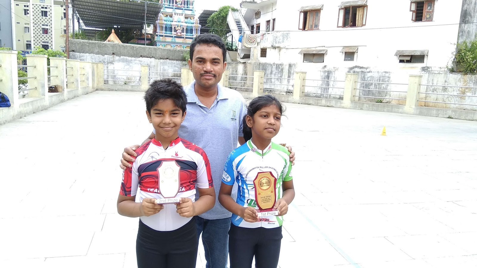 Roller shoes in hyderabad - Skating Medal Winners Hyderabad