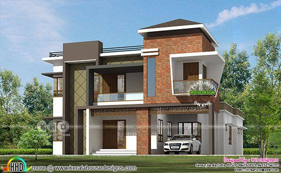 2797 square feet ₹58 lakhs modern home