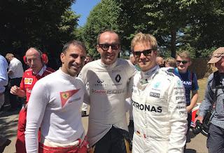 Nico Roberg and Robert Kubica