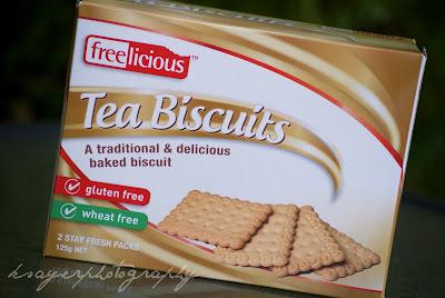 Freelicious Gluten Free Biscuits