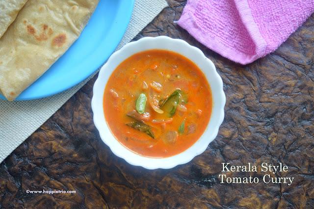 Kerala Style Tomato Curry Recipe  | Nadan ThakkaliCurry