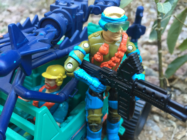 1993 Mirage, Mega Marines, Monster Blaster APC, Bazooka, Outback, Eco Warriors, Mudbuster, 1994 Ice Cream Soldier