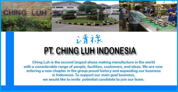 Lowongan Kerja Tangerang Terbaru 2018 PT.Victory ChingLuh Indonesia