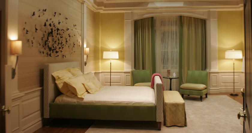 Quarto da serena van der woodsen morando sozinha for Deco appartement olivia pope
