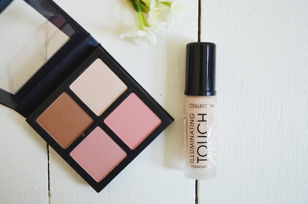 Collection Illuminating Touch Foundation review, beauty bloggers, beauty blog UK