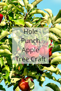 Hole Punch Apple Tree Craft