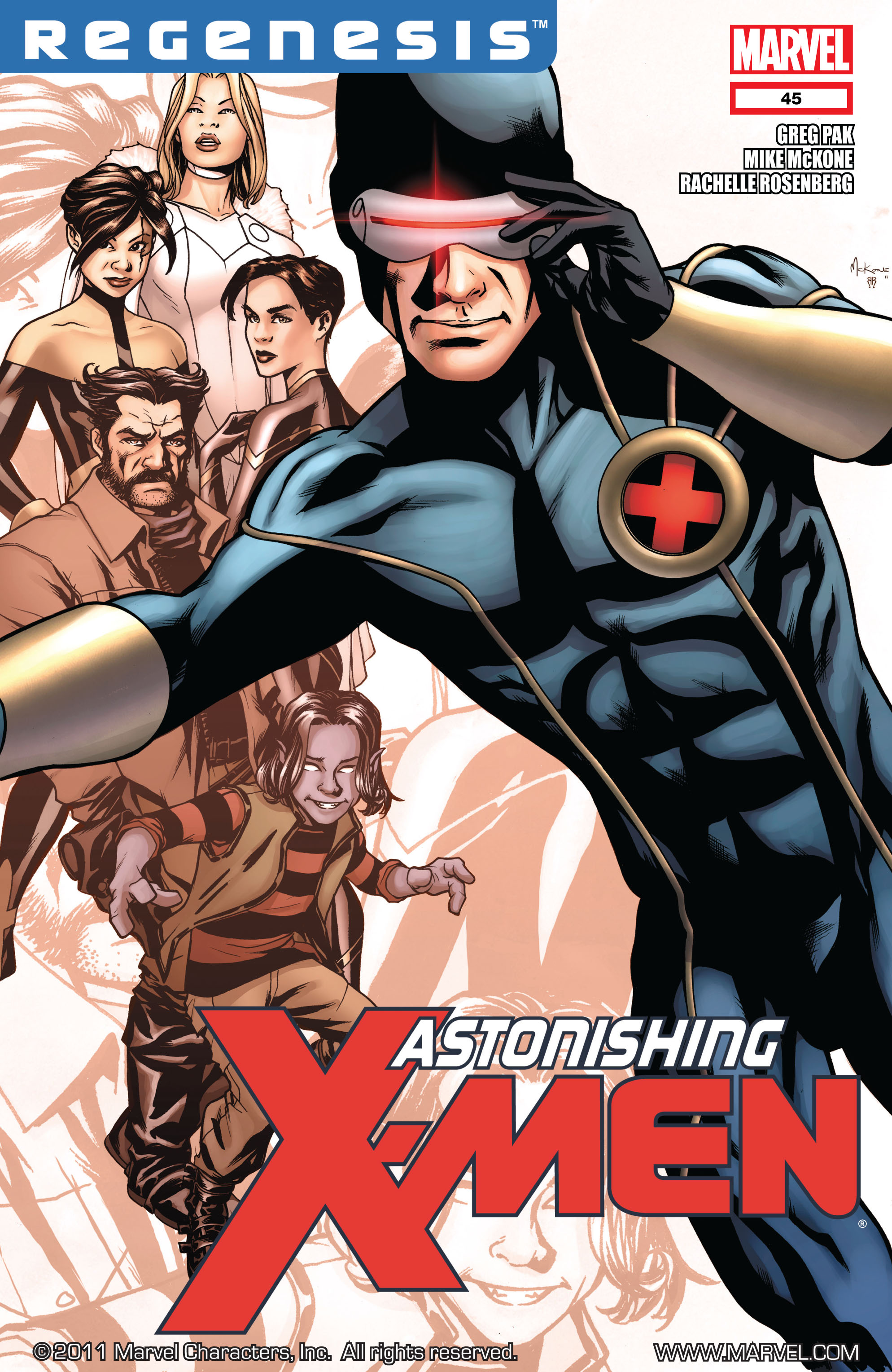 Read online Astonishing X-Men (2004) comic -  Issue #45 - 1