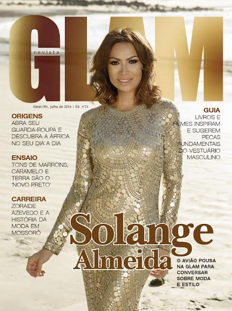 Music Artist, @ Solange Almeida - Revista Glam, July 2016