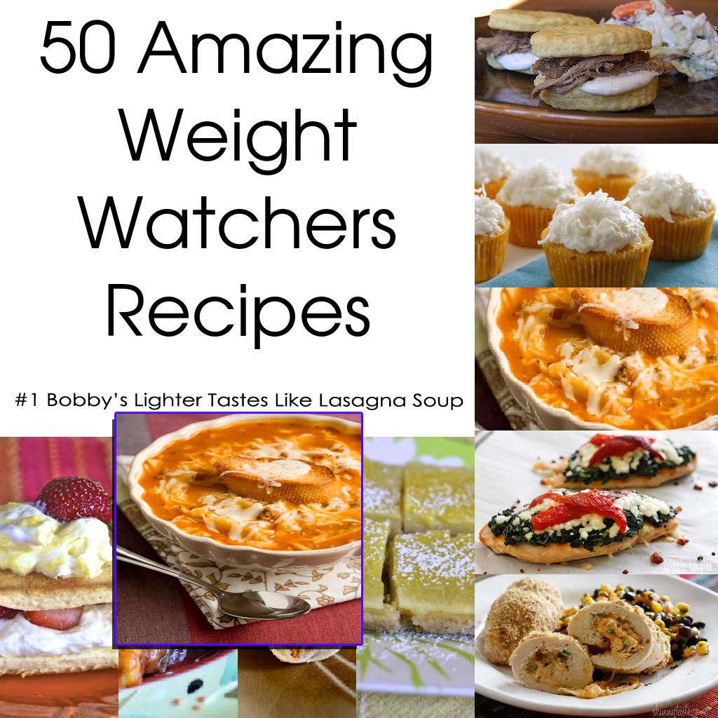 Bobby's Lighter Tastes Like Lasagna Soup - 50 Amazing Weight Watchers Recipes