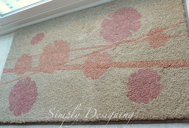 09a DIY Stenciled Rug and a {GIVEAWAY} 15