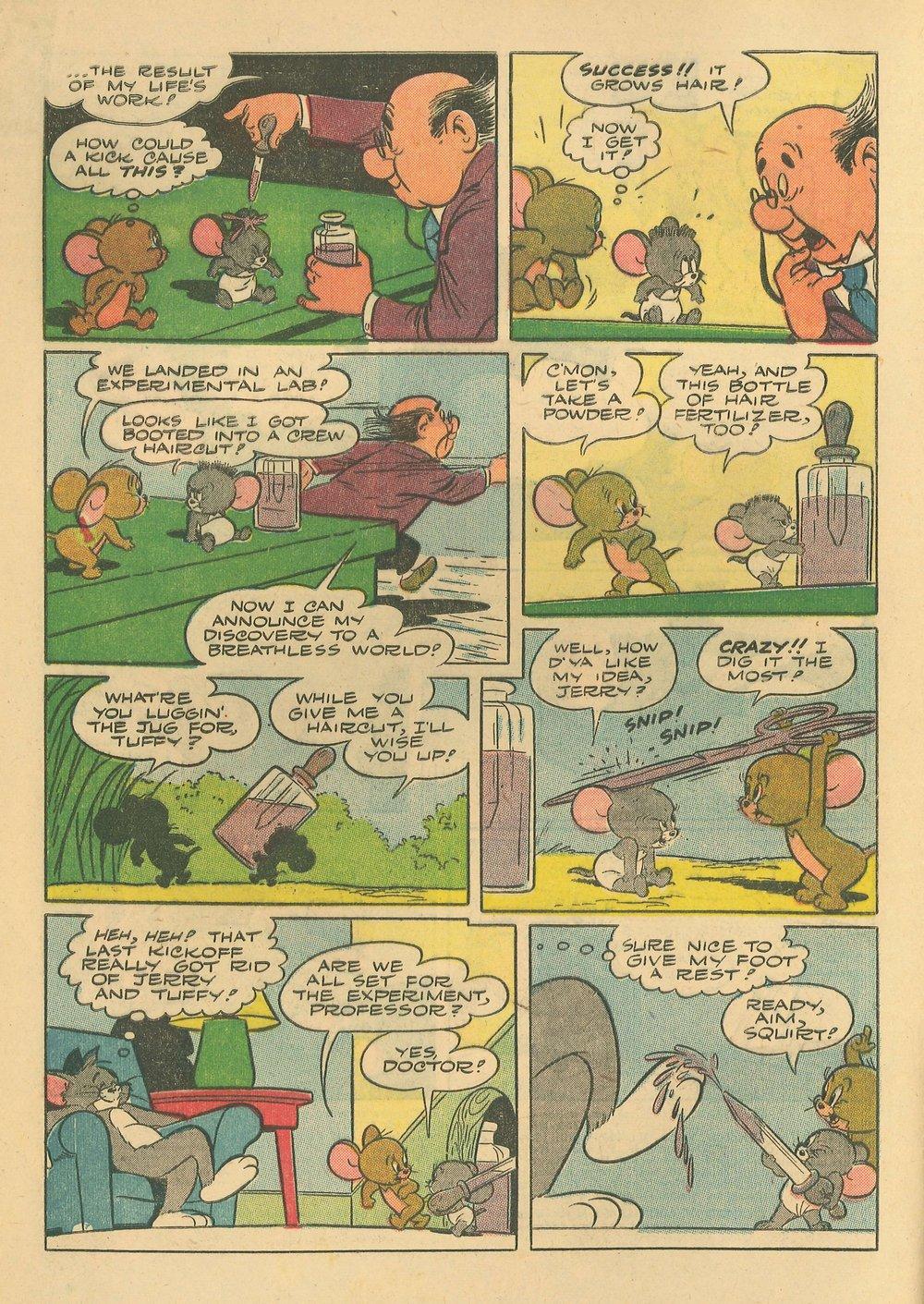 Comic Tom & Jerry Comics issue 57
