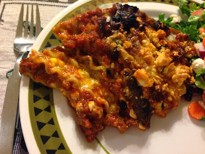 Not so Soup and not so Sunday: Lasagna on Monday