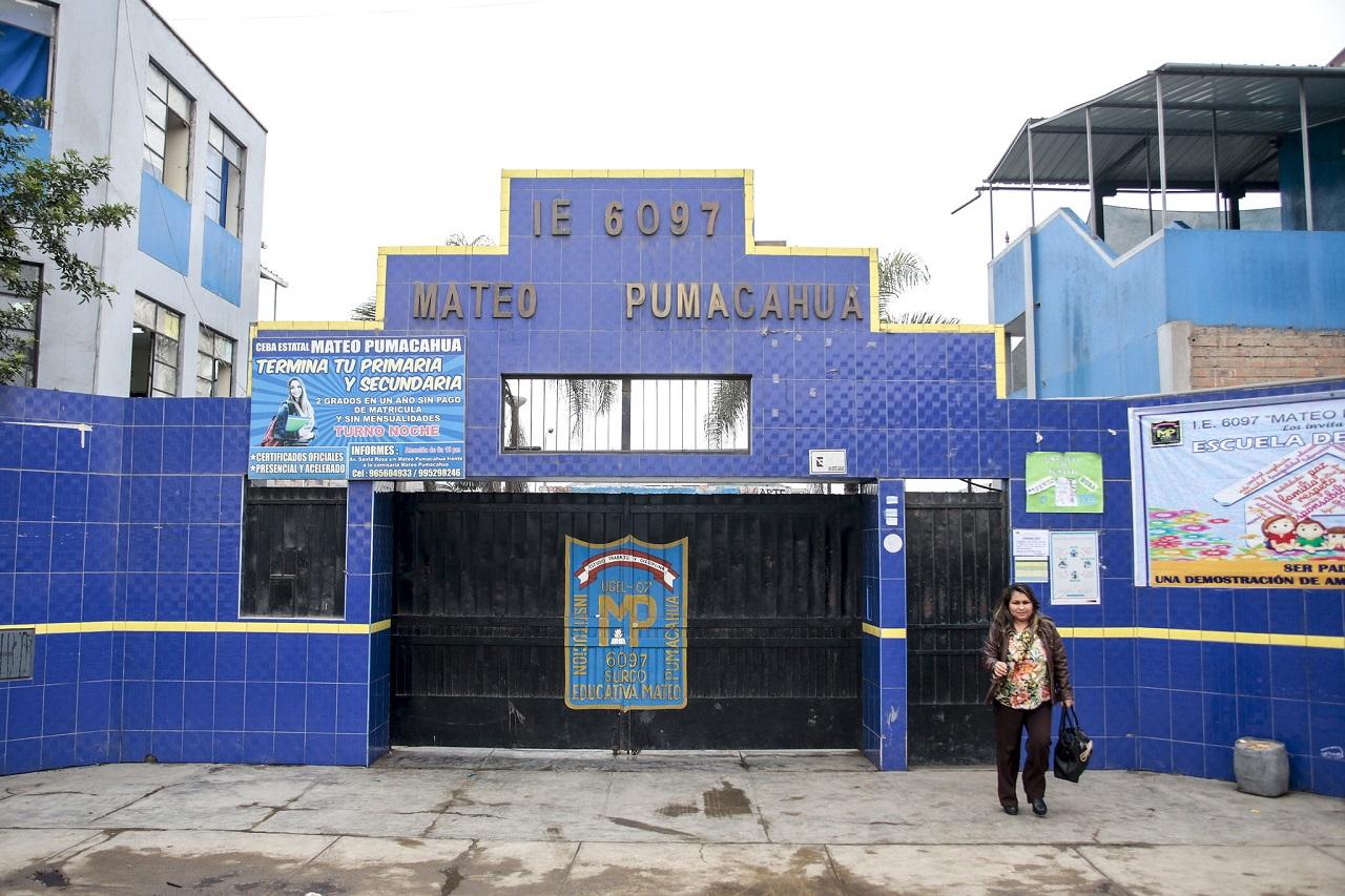 Colegio 6097 MATEO PUMACAHUA - Surco