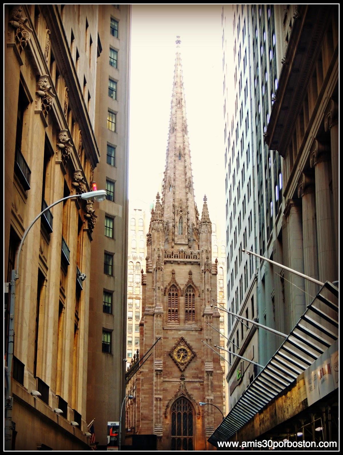 Segunda Visita a Nueva York: Trinity Church