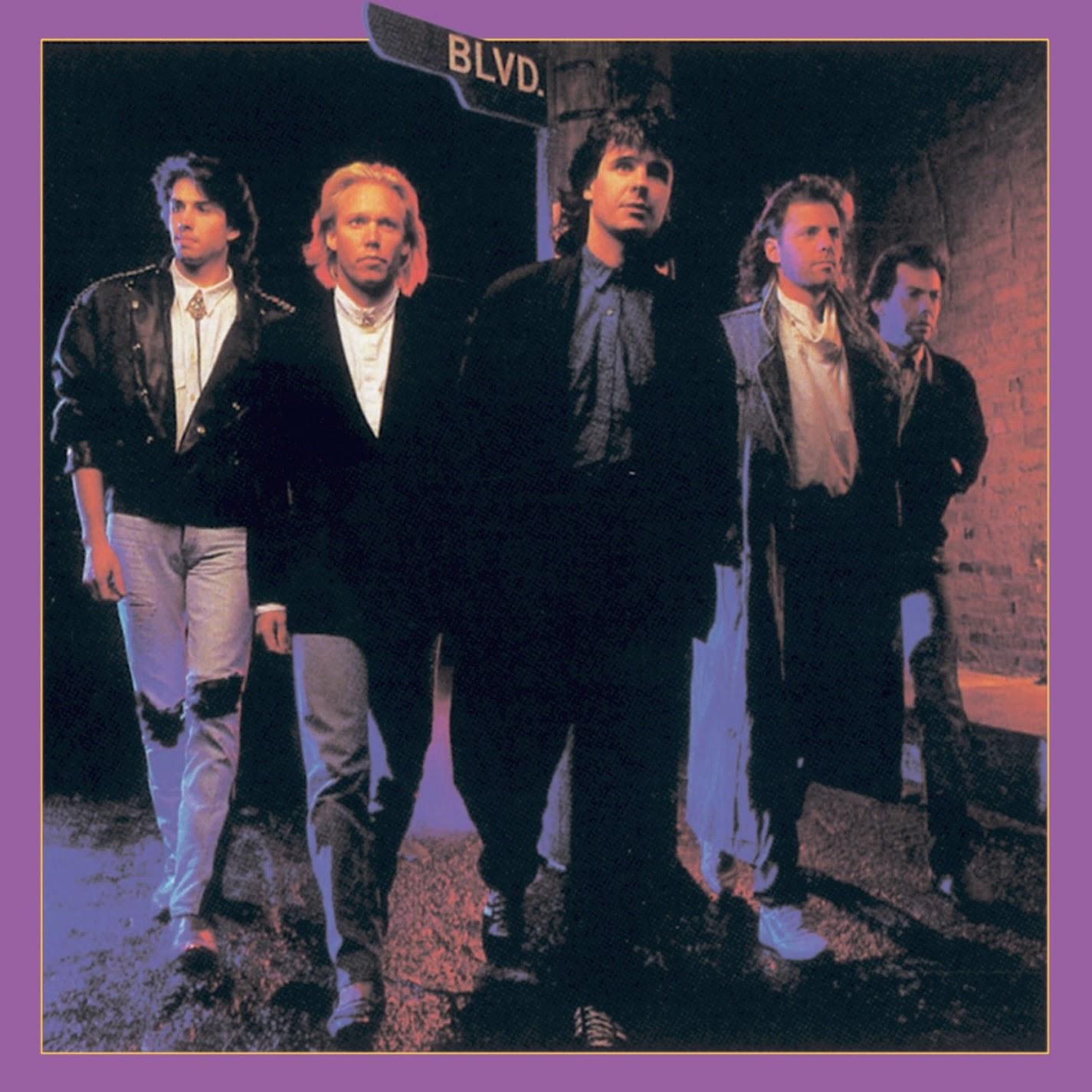 Boulevard BLVD st 1988 aor melodic rock music blogspot albums bands