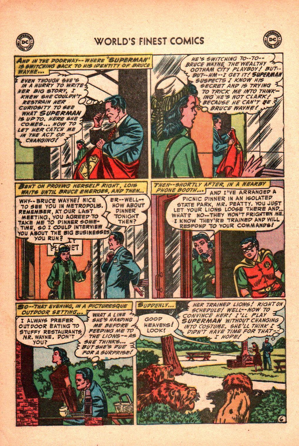Read online World's Finest Comics comic -  Issue #71 - 10