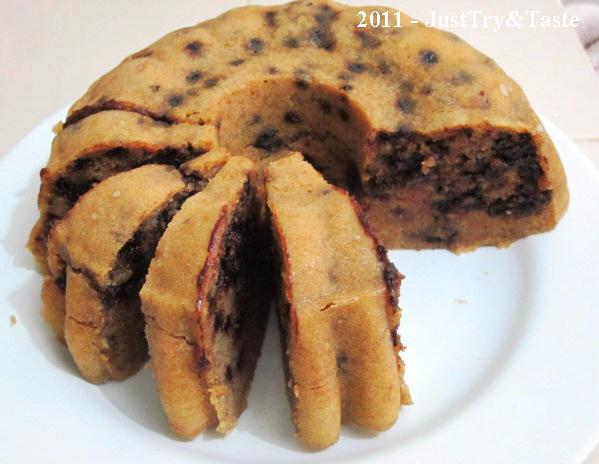 Resep Cake Kukus Pisang & Choco Chips