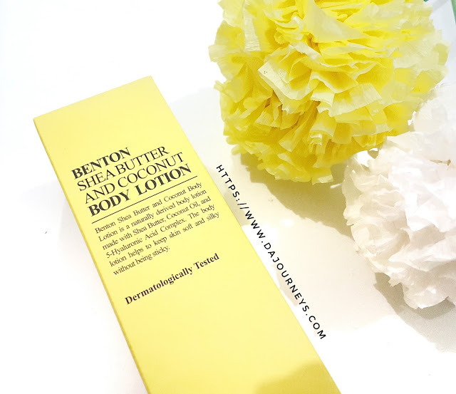 Review Benton Shea Butter and Coconut Body Lotion