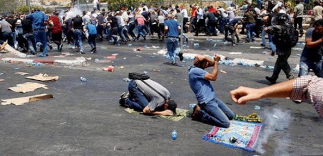 Dzalim! Dalam 10 Hari, Amuk Pasukan Israel di Al-Aqsa Sudah Lukai Lebih dari 900 Warga Palestina