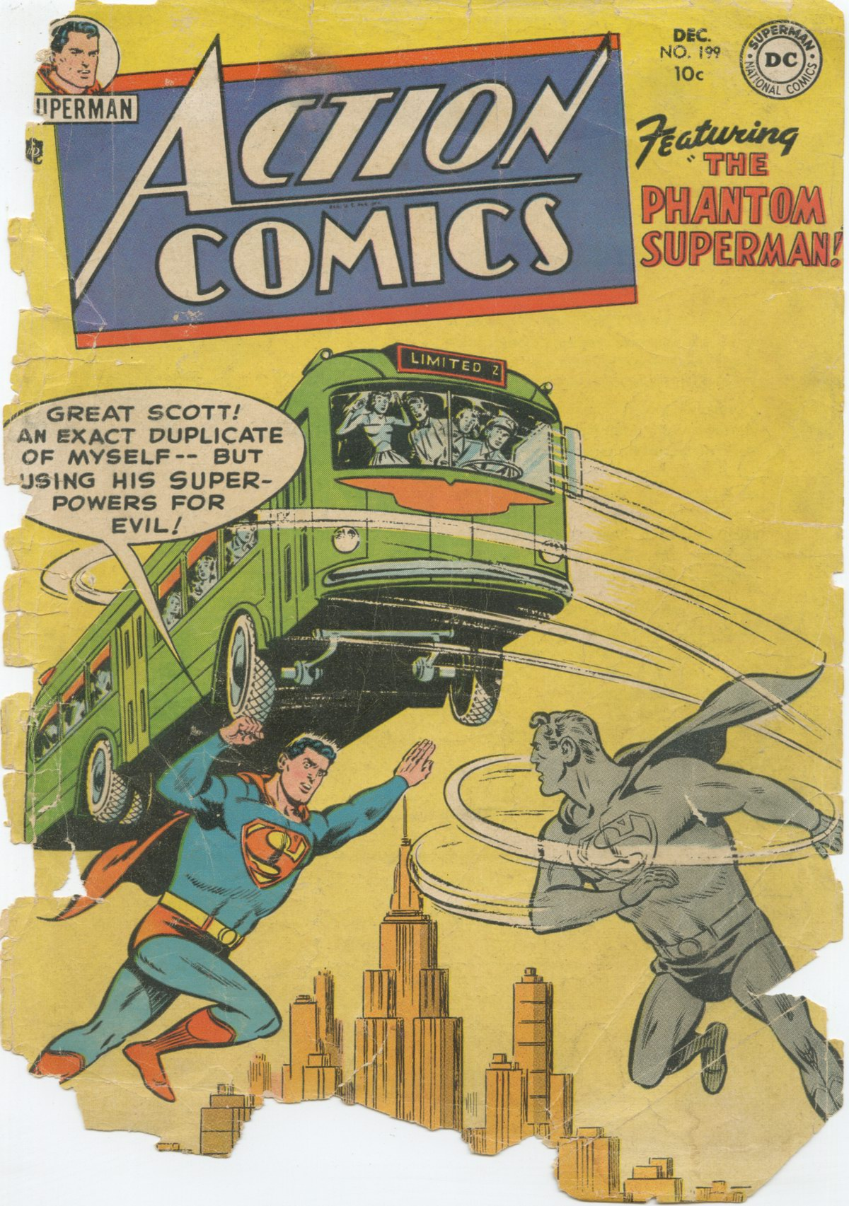 Read online Action Comics (1938) comic -  Issue #199 - 2
