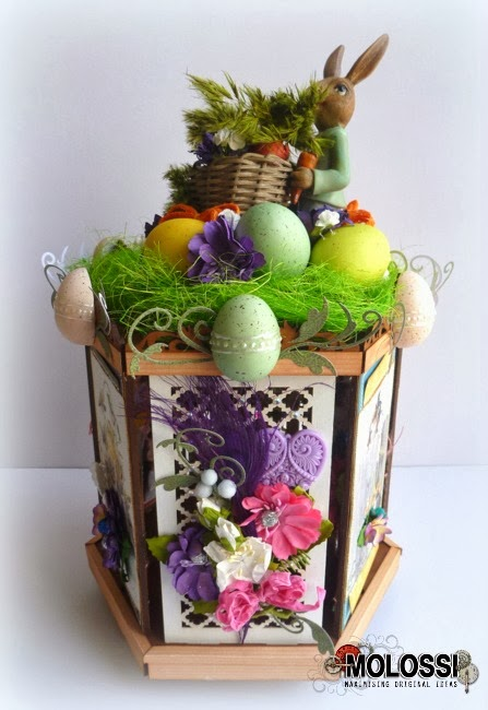 Easter Photo Carousel by Dana Tatar for Molossi