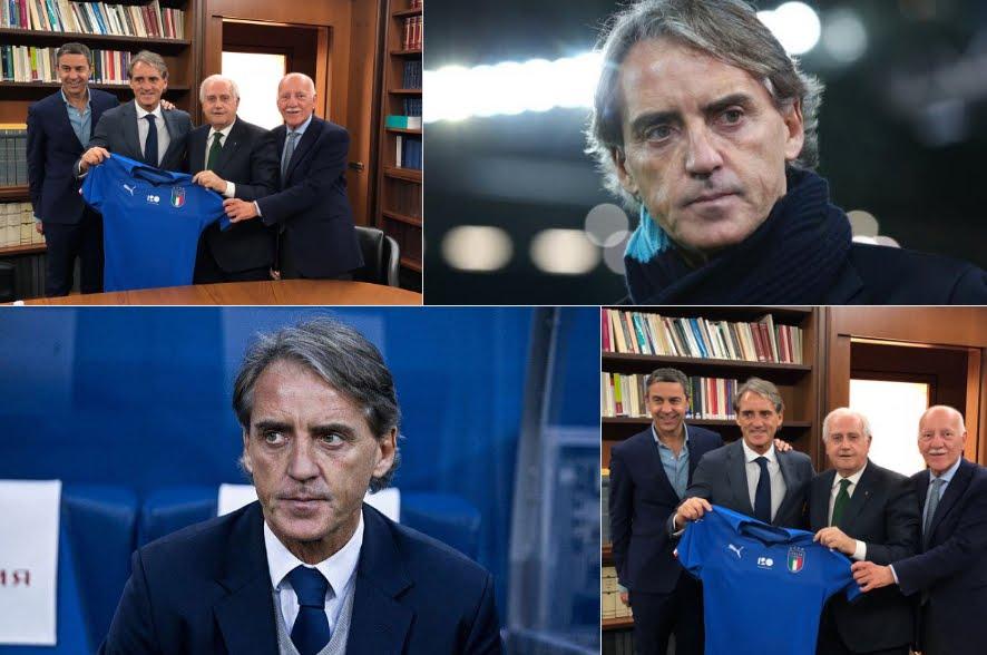 Roberto Mancini nuovo allenatore della Nazionale Italiana di Calcio