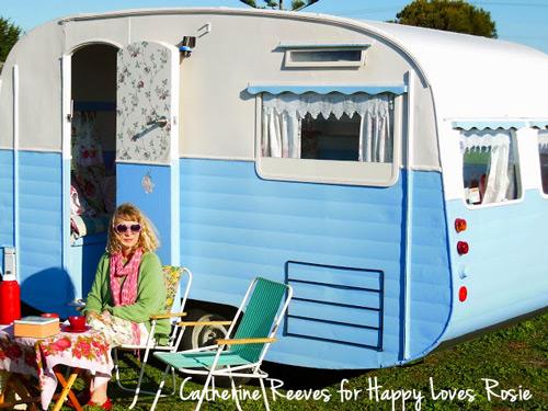 Catherine Reeves Vintage Caravan