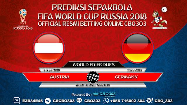 Prediksi Bola Austria VS Germany 02 Juni 2018