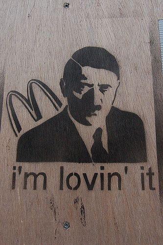 Art Sci He S Ba Ack Hitler Reappears In Graffiti Art