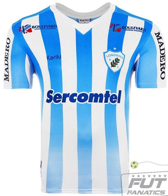 9adc5d403 Karilu apresenta camisas do Londrina para 2015 - Testando Novo Site