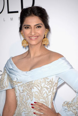 Sonam Kapoor at amfAR's 23rd Cinema against AIDS dinner at Eden Roc, Cap d'Antibes